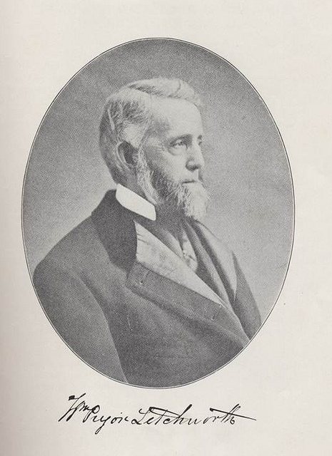 Influential Advocates- William Pryor Letchworth (1823-1910)