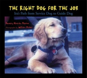The Right Dog for the Job: Ira's Path from Service Dog to Guide Dog by Dorothy Hinshaw Patent (Hardcover)