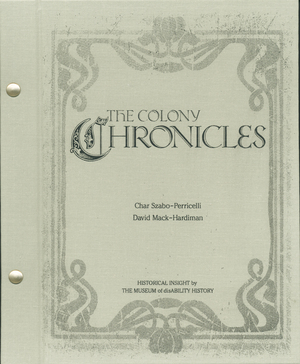 The Colony Chronicles